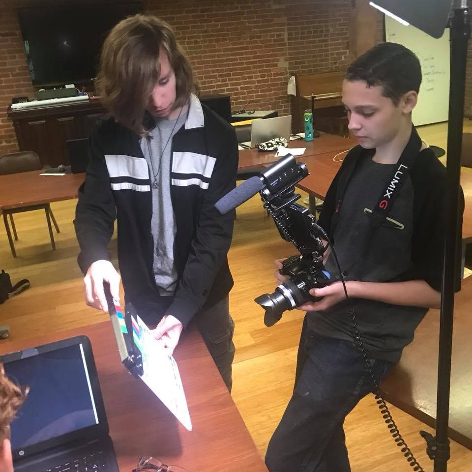 12 Week Filmmaking Sessions for Ages 10-13 & 13-17